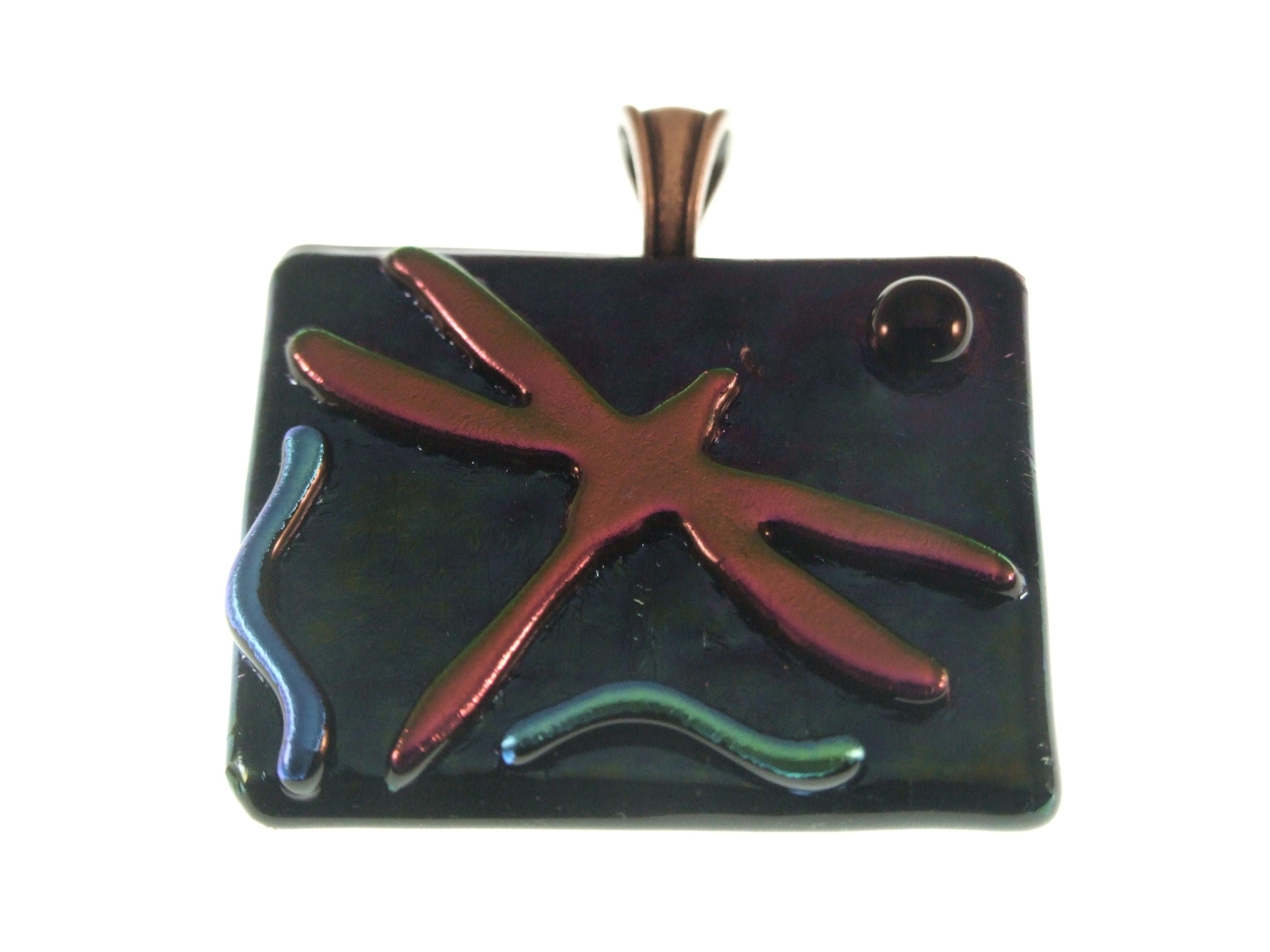 Dragonfly pendant by Lynn Smythe