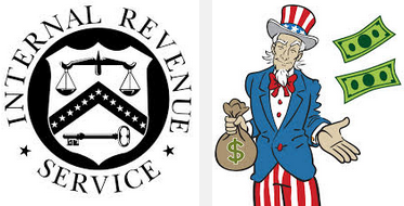 Uncle Sam wants his money, if you make money as a freelance writer, don't forget to report it to the IRS.