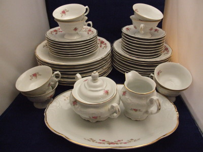 Vintage china pattern by Wawel.