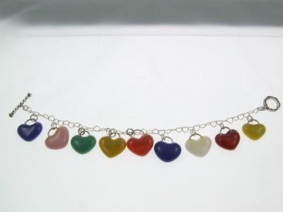 Heart bracelet by Lynn Smythe