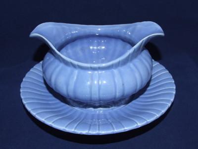 Vintage Stangl pottery gravy boat.