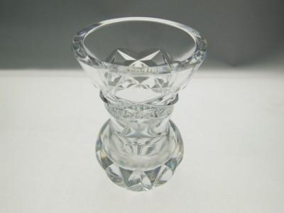 ABP crystal bud vase.