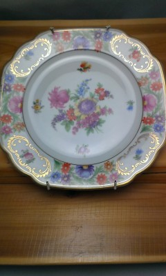 Dresden style plate made in Germany.