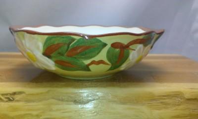 Vintage Stangl pottery soup bowls.