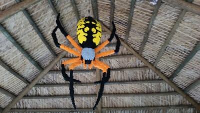 Lego corn spider