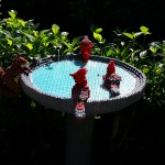 Lego Birdbath by Sean Kenney