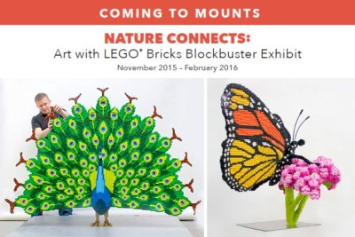 Mounts Botanical Garden Lego's Exhibit