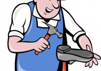 Cooler repairing shoe