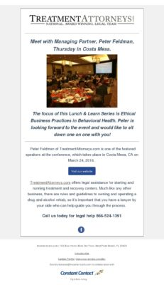 Costa Mesa Lunch & Learn Series