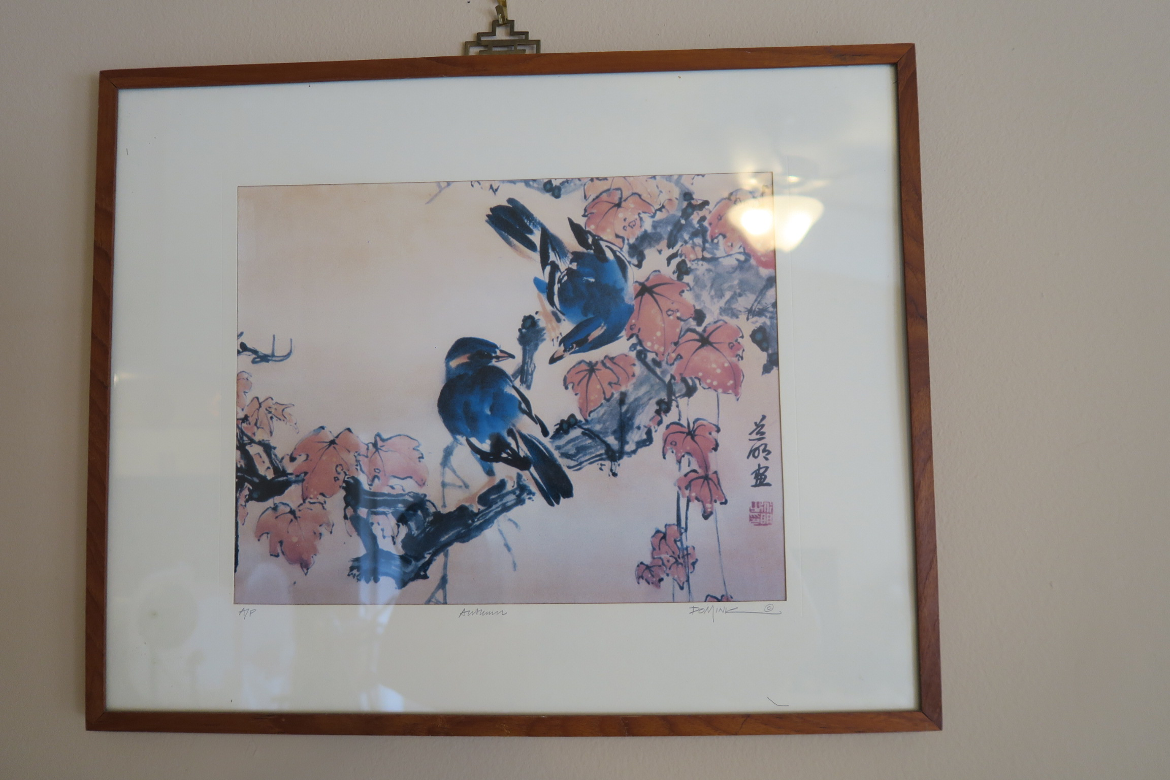 Decorating with Thrift Store Artwork