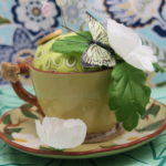 teacup pincushion by Lynn Smythe