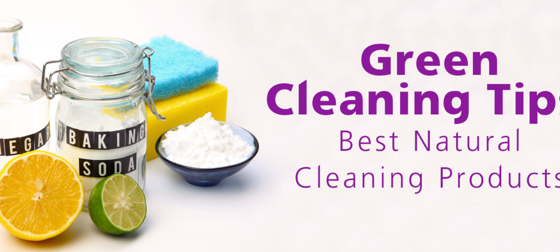 green cleaning tips from The Creative Cottage